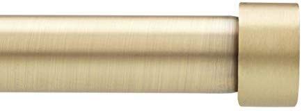 Amazon Com Umbra Cappa Curtain Rod 1 Inch Drapery Rod Extends