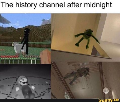 The history channel after midnight iFunny ) is part of Funny memes - The history channel after midnight popular memes on the site iFunny co Really Funny Memes, Stupid Funny Memes, Funny Relatable Memes, Funny Posts, Funny Stuff, Hilarious, Random Stuff, Fun Funny, History Instagram