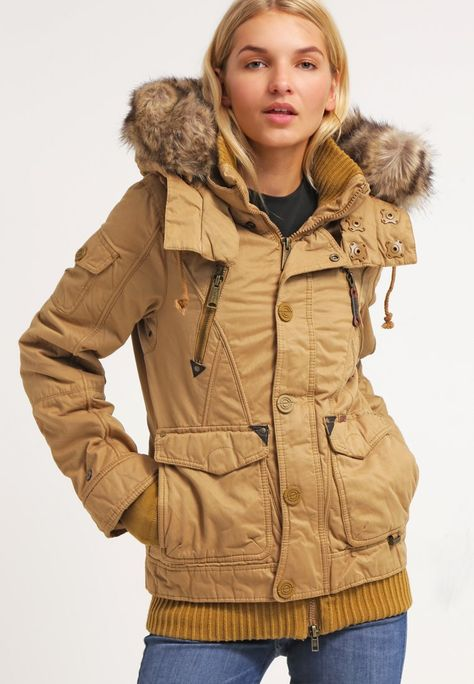 khujo ULRIKA Winter jacket light bronze Zalando.co.uk