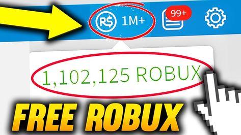 Free 1 Million Robux Glitch 2018 Free Robux Free Robux On