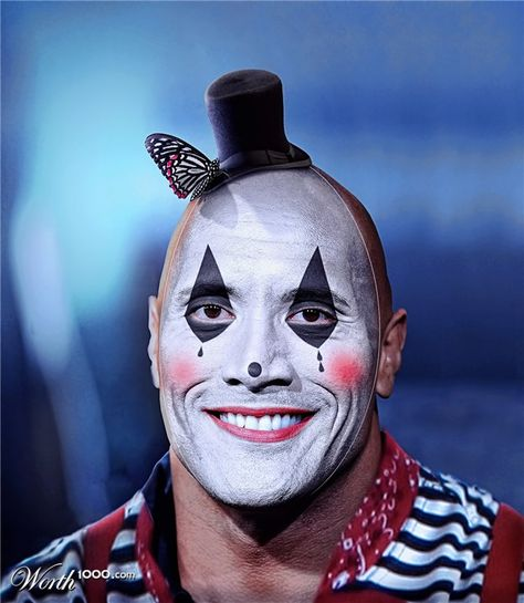 Celebrity Mimes 5 - Worth1000 Contests    Dwayne Johnson