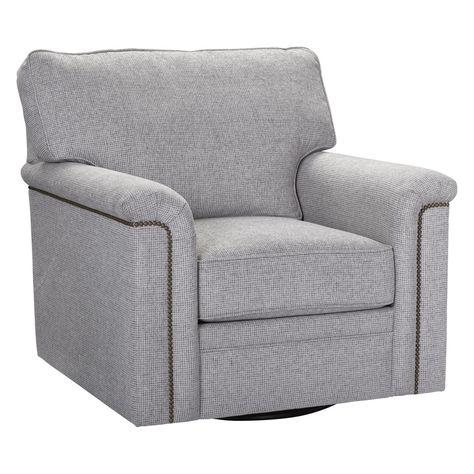 broyhill warren swivel chair