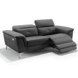 Relaxsofa 3 Sitzer Leder Elektrisch Marcis Elfenbein Kauf Uniquekauf Unique In 2020 Recliner Chair Couch Lounge Chair