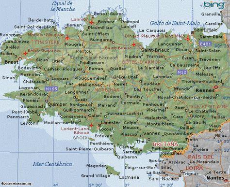 Este Es Un Recopilatorio De Los Mejores Mapas De La Bretana