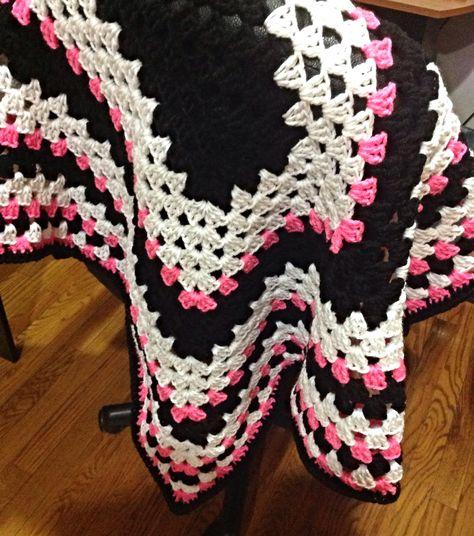Haylees crochet blanket