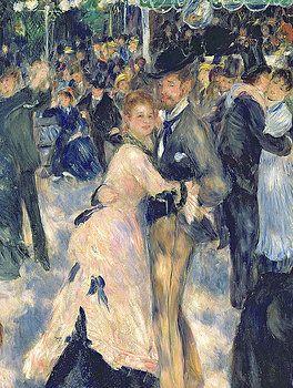 Ball At The Moulin De La Galette Pierre Auguste Renoir Renoir