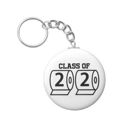 Class Of 2020 Funny Toilet Paper Graduation Senior Keychain Zazzle Com In 2020 Funny Graduation Gifts Toilet Paper Humor Senior Gifts