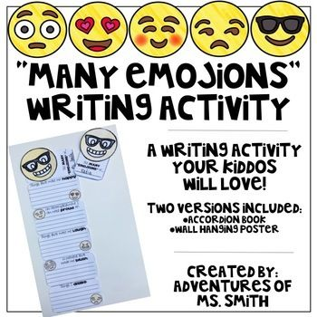 Do Your Students Love Emojis If So They Will Also Love This Fun Writing Activity Students Will Respond To D Carpet Cleaning Hacks Writing Writing Activities