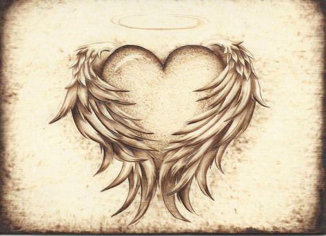 Angelic Heart by Aliehs on DeviantArt
