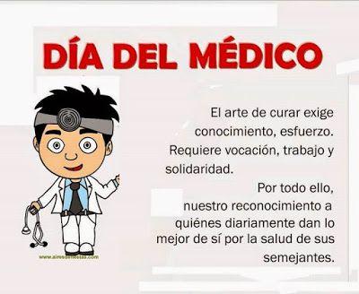 Feliz Dia Del Médico Feliz Dia Del Medico Dia Del Medico