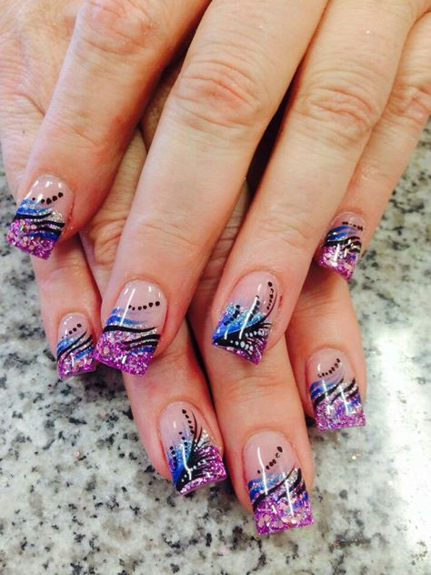 Stunning acrylic nails - Home Page