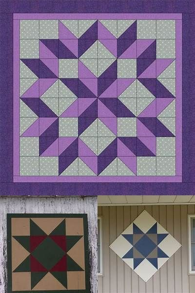 graphic regarding Free Printable Barn Quilt Patterns identify No cost Printable Barn Quilt Behaviors - Bing visuals quilt