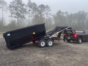 New Roll Off Trailer Dumpsters Built For United Waste Services Llc Dumpsters For Sale Cedar Manufacturing In 2020 Waste Services Dumpsters The Unit