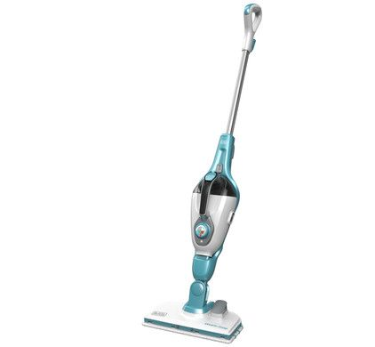 Black Decker 11 In 1 Steam Mop With Steamitt Steamburst Steam Mop Black Decker Mops