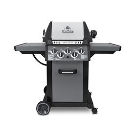 Broil King Monarch 390 Black Stainless Steel Metallic Charcoal 3