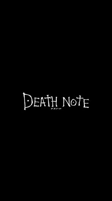 Anime Fanatics Follow Me For More Post Feedback Below Tag Your Incredible Bestfriend Deathno In 2020 Death Note Wallpaper Iphone Death Note L Death Note