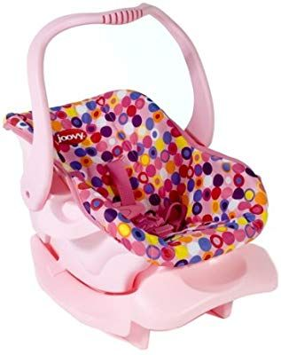 "Doll Furniture Toy Car Seat Pink Dot Toys /"" Games"