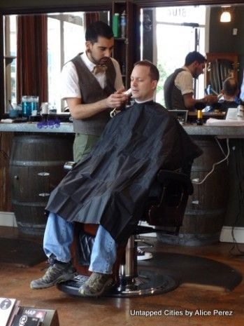Quiz How Much Do You Know About Man In Barber Chair Man In Barber Chair Modern Man Barber Chair And A Half