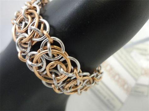 Mhai O Mhai Beads - HyperLynks Chainmaile Kits. Clockwork weave