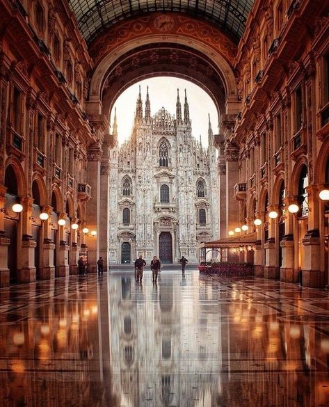 Bellissimo! A silhouette of aspiring spires, these freshwater tooth pearl earrings  are delicate and light, while commandingly beautiful, like the Duomo  itself. Set yourself apart in pearl earrings that sway as you saunter!Photo of inspiration! Milan, Italy, the  Duomo - White Tooth Pearl Earrings