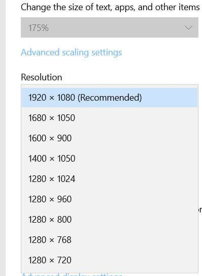 How To Change Screen Resolution In Windows 10 Screen Resolution Windows 10 Changing Screen
