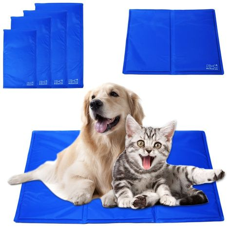 Unho Pet Pad Cooling Pad For Dogs Mat Dog Bed Leak Proof Cat Summer Cushion Cool Water Sleeping Pad Cats Items Puppy Beds Dog Cooling Mat Pet Pads