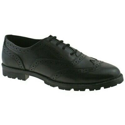 SHOE CHUNKY LEATHER LACE