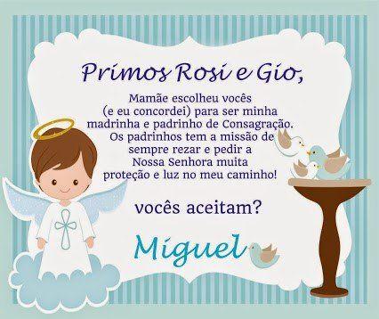 4dd8595c5ec673 Convite- de- Batizado- aos- Padrinhos- 9 | Invitations | Convite batismo,  Convite padrinhos e Convites batizado