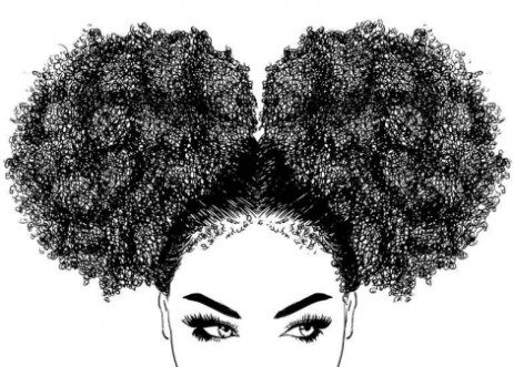 Home Art Afro Hair Drawing Curly Hair Drawing Drawings Of Black Girls