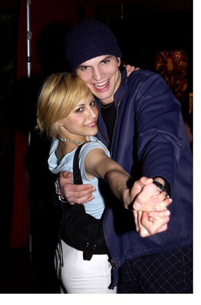 Ashton Kutcher en Brittany Murphy dating