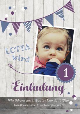 20 best Einladungskarten lila violett images on Pinterest