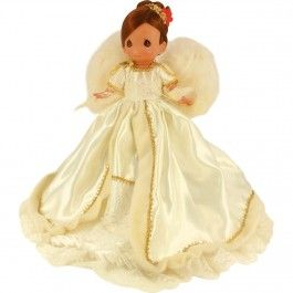 "Precious Moments Doll Angels We Have Heard on High Tree Topper 12/"" Doll BLONDE"
