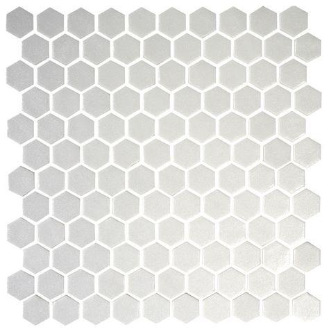 Mosaico 31 X 31 Cm Blanco Serie One Mosaic Deco Ref