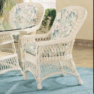 Bay Isle Home Rosado Upholstered Slat Back Arm Chair Armchair Shabby Chic Furniture Comfy Reading Chair