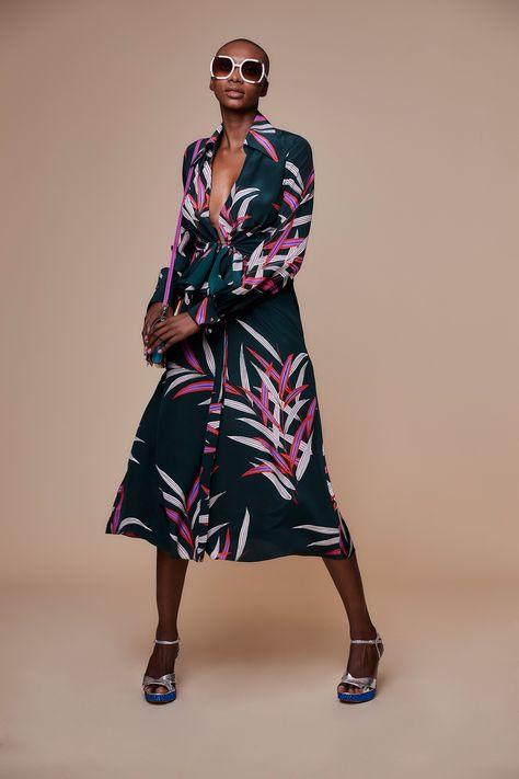 Diane von Furstenberg Fall 2018 Ready-to-Wear Fashion Show Collection #fallfashion #fall2018  #AW18