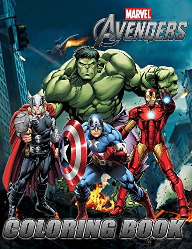 Marvel Avengers Coloring Book Exclusive Work 33 Illustr Https Www Amazon Co Uk Dp 1726387143 R Avengers Coloring Avengers Coloring Pages Marvel Coloring