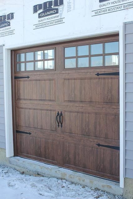 This Particular Garage Door Carriage Is Certainly An Inspiring And Extremely Good Idea Garagedoorcarriage House Exterior Garage Doors Wood Garage Doors