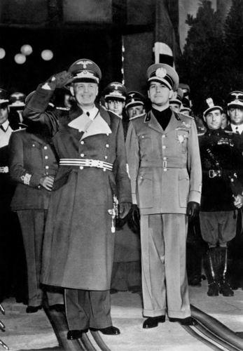 Joachim Von Ribbentrop and Galeazzo Ciano