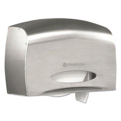 Kimberly Clark Coreless Jrt Bath Toilet Paper Dispenser In 2020 Bath Tissue Commercial Toilet Paper Dispenser