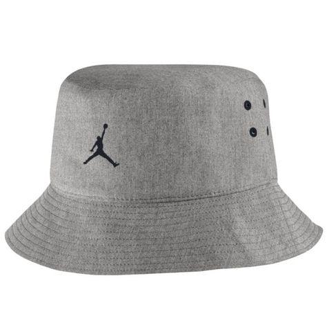 b6b261310fd867 Nike Air Jordan 23 Lux Bucket Hat Grey Black Mens L xl With Tags 801774 063