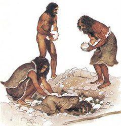 Paleolitico Y Neolitico Curso De Historia Primer Ano Imagenes De Historia Prehistoria Ritos Funerarios