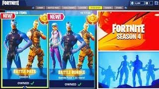New Fortnite Season 4 Battle Pass Bundle Unlocking Fortnite Battle Royale Season 4 Update Fortnite Comic Book Cover Comic Books Fortnite developer epic games launches a brand new update and battle pass, which includes new skins of course, you'll only be able to access the new season 5 content if you've downloaded and. battle royale season 4 update