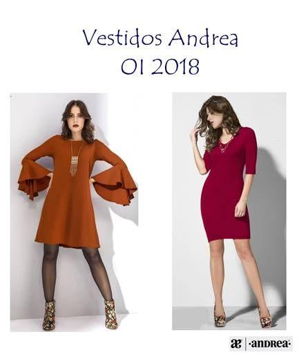 Vestidos Andrea 2019 Nuevos Modelos De Vestidos En 2019