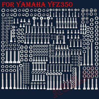 YAMAHA BANSHEE STAINLESS ENGINE BOLT SCREW  set KIT YFZ350  POLISHED