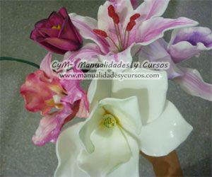 Pin En Flores En Goma Eva