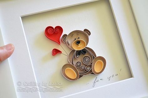 """Quilling wall art """".. for you"""" quillin paper / #Art #paper #QuilledPaperArtbeautiful #Quillin #Quilling #quot #Wall #youquot"""