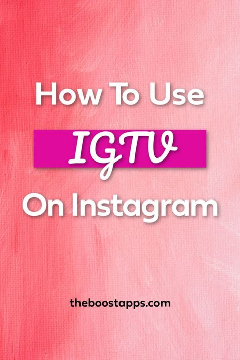 Discover everything you need to know about IGTV and learn how you can leverage its unique features to grow your business.