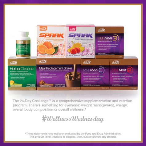 The #AdvoCare 24-Day Challenge™ is a great way to start off the new year, which is why we are featuring it as today's #WellnessWednesday!  http://www.fitntrim.biz #24dc