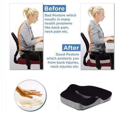 Coccyx Orthopedic Comfortable Memory Foam Chair Car Seat Cushion