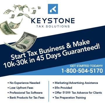 START YOUR TAX BUSINESS TODAY NO EFIN REQUIRED (Memphis